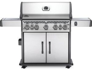 Rogue Gas Grill with Infrared Side Burner