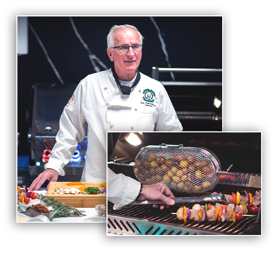 CHEF DON SHOWROOM COOKING CLASSES