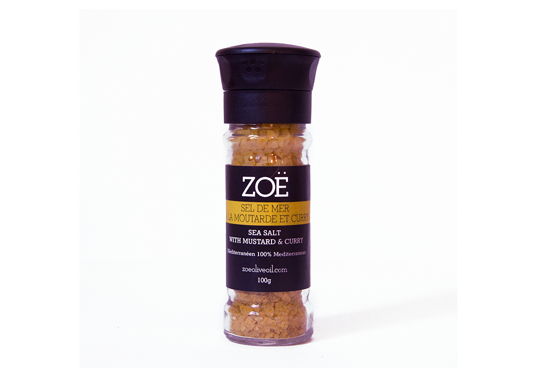 ZOE- Sea Salt with Mustard and Curry